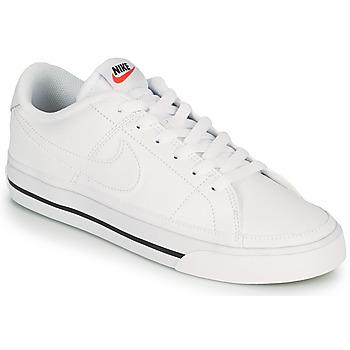 Zapatos Mujer Zapatillas bajas Nike COURT LEGACY Blanco