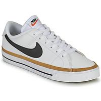 Zapatos Mujer Zapatillas bajas Nike COURT LEGACY Blanco / Azul