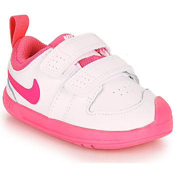 Zapatos Niña Zapatillas bajas Nike PICO 5 TD Blanco / Rosa