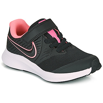 Zapatos Niña Multideporte Nike STAR RUNNER 2 PS Negro / Rosa