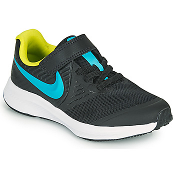 Zapatos Niño Multideporte Nike STAR RUNNER 2 PS Negro / Azul