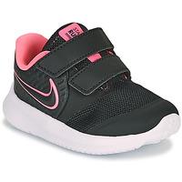 Zapatos Niña Multideporte Nike STAR RUNNER 2 TD Negro / Rosa
