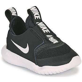 Zapatos Niños Multideporte Nike FLEX RUNNER TD Negro / Blanco