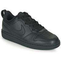 Zapatos Niños Zapatillas bajas Nike COURT BOROUGH LOW 2 GS Negro
