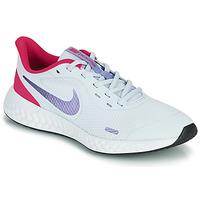 Zapatos Niña Multideporte Nike REVOLUTION 5 GS Azul / Violeta