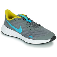 Zapatos Niño Multideporte Nike REVOLUTION 5 GS Gris / Azul
