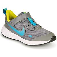Zapatos Niño Multideporte Nike REVOLUTION 5 PS Gris / Azul