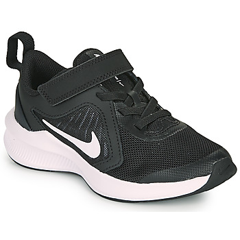 Zapatos Niños Multideporte Nike DOWNSHIFTER 10 PS Negro / Blanco