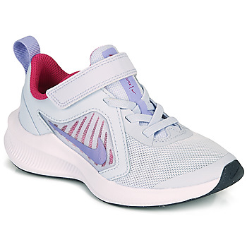 Zapatos Niña Multideporte Nike DOWNSHIFTER 10 PS Azul / Violeta