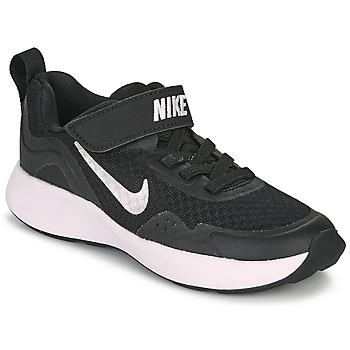 Zapatos Niños Multideporte Nike WEARALLDAY PS Negro / Blanco