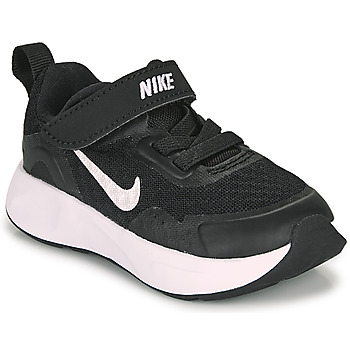 Zapatos Niños Multideporte Nike WEARALLDAY TD Negro / Blanco