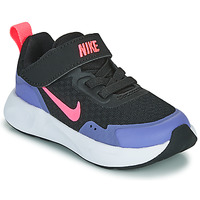 Zapatos Niña Multideporte Nike WEARALLDAY TD Negro