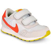 Zapatos Niña Zapatillas bajas Nike MD VALIANT PS Beige / Rojo