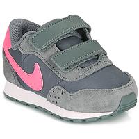 Zapatos Niña Zapatillas bajas Nike MD VALIANT TD Gris / Rosa
