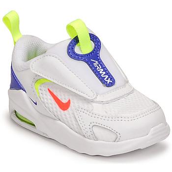 Zapatos Niños Zapatillas bajas Nike AIR MAX BOLT TD Blanco / Azul