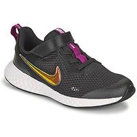 Zapatos Niña Zapatillas bajas Nike REVOLUTION 5 SE PS Negro