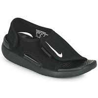 Zapatos Niños Chanclas Nike SUNRAY ADJUST 5 V2 PS Negro