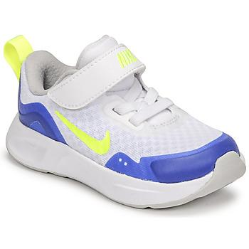 Zapatos Niños Multideporte Nike NIKE WEARALLDAY Blanco / Azul / Verde