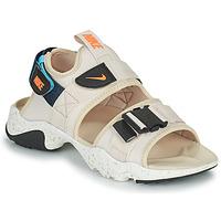 Zapatos Mujer Chanclas Nike NIKE CANYON Beige