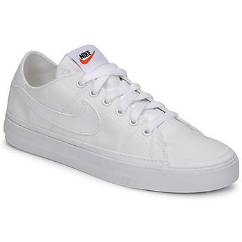 Zapatos Mujer Zapatillas bajas Nike NIKE COURT LEGACY CANVAS Blanco