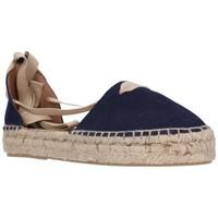 Zapatos Mujer Alpargatas Carmen Garcia 92D30 azul 300 Mujer Azul bleu