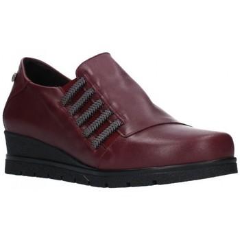 Zapatos Mujer Mocasín Valeria's 6503 Mujer Burdeos rouge