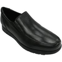Zapatos Hombre Mocasín Bartty Zapato hombre liso suela gorda negro