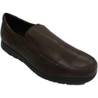 Zapatos Hombre Mocasín Bartty Zapato hombre liso suela gorda marrón