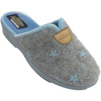 Zapatos Mujer Pantuflas Nevada Zapatillas mujer abiertas detrás estrell azul