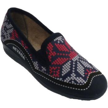 Zapatos Mujer Pantuflas Nevada Zapatilla mujer cerrada simulando punto azul