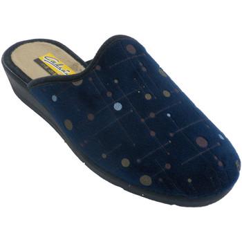 Zapatos Mujer Pantuflas Aguas Nuevas Zapatillas mujer abiertas por detrás lun azul