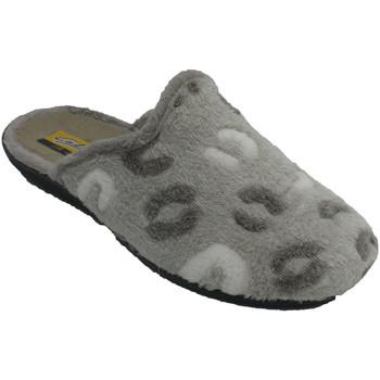 Zapatos Mujer Pantuflas Aguas Nuevas Zapatillas mujer abiertas por detrás var beige