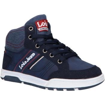Zapatos Niños Zapatillas altas Lois 63083 Azul