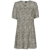textil Mujer Vestidos cortos Vero Moda VMELIN Beige
