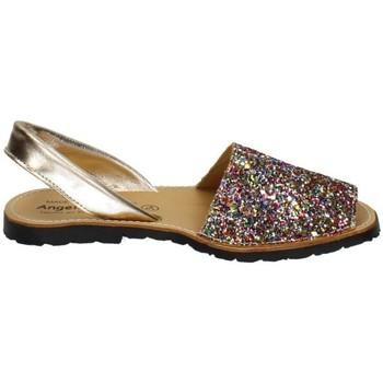 Zapatos Mujer Sandalias Angelitos Sandalia purpurina Multicolor