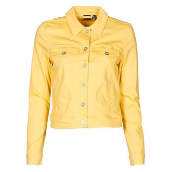 textil Mujer Chaquetas denim Vero Moda VMHOTSOYA Amarillo
