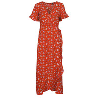 textil Mujer Vestidos largos Vero Moda VMSAGA Rojo