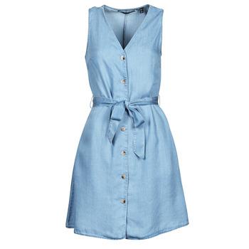 textil Mujer Vestidos cortos Vero Moda VMVIVIANA Azul / Claro