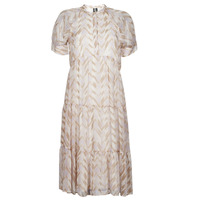 textil Mujer Vestidos largos Vero Moda VMKATHRINE Beige