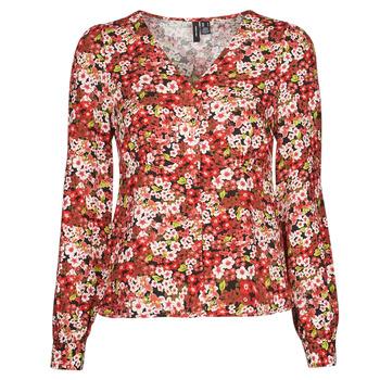 textil Mujer Camisas Vero Moda VMSIMPLY EASY Rojo