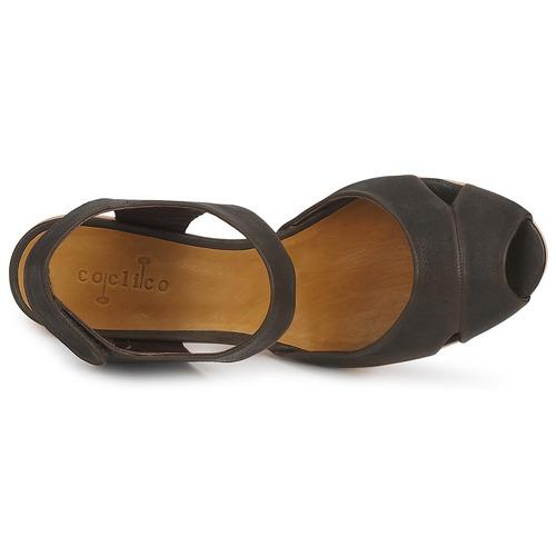 Zapatos de mujer baratos zapatos de mujer Zapatos especiales Coclico EMA Negro