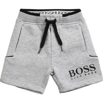 textil Niño Shorts / Bermudas BOSS NOLLA Gris