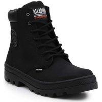 Zapatos Mujer Zapatillas altas Palladium Manufacture Pallabosse SC Waterproof 96868-008-M negro