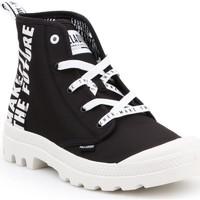 Zapatos Zapatillas altas Palladium Manufacture Pampa HI Future 76885-002-M blanco, negro