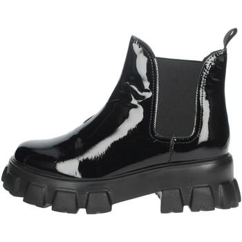 Zapatos Mujer Botas de caña baja Nina Capri IC-154 Negro