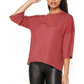textil Mujer Camisetas manga corta Jacqueline De Yong  Rojo