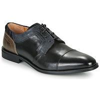 Zapatos Hombre Derbie Redskins WINDSOR Negro / Marino / Gris