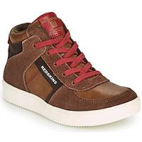 Zapatos Niño Zapatillas altas Redskins LAVAL KID Marrón / Rojo