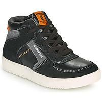 Zapatos Niño Zapatillas altas Redskins LAVAL KID Negro / Antracita