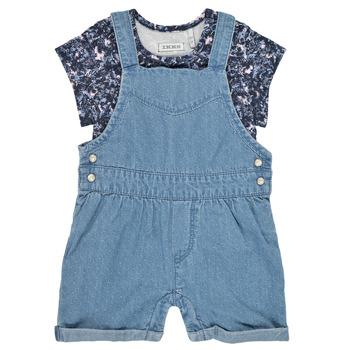 textil Niña Monos / Petos Ikks XS37010-84 Azul